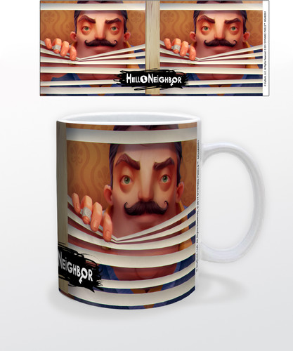 Hello Neighbor Blinds 11 Oz Mug - Hello Neighbor Blinds 11 oz mug
