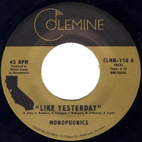Monophonics - Like Yesterday