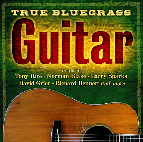 True Bluegrass Guitar /  Various