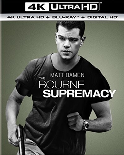 Bourne Supremacy [4K Ultra HD Blu-ray/Blu-ray] [UltraViolet]