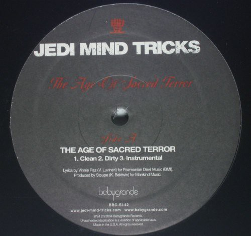 The Age Of Sacred Terror /  Saviorself