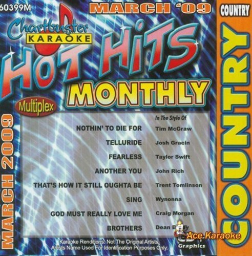 Karaoke: Hot Hits Country - March 2009