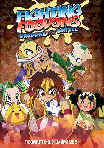 Fighting Foodons Complete Series