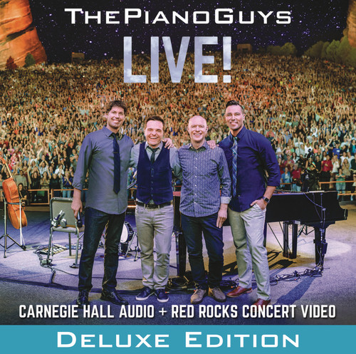 The Piano Guys - Live! [CD/DVD Deluxe Edition]