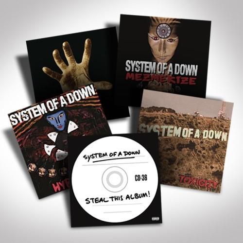 System Of A Down Vinyl Bundle