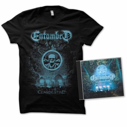 Entombed - Clandestine - Live (2xl)