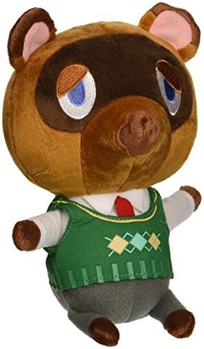 "- Little Buddy Animal Crossing Tom Nook 7"" Plush"