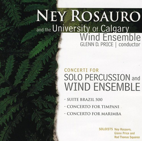 Concerti for Solo Percussion & Wind Ensemble