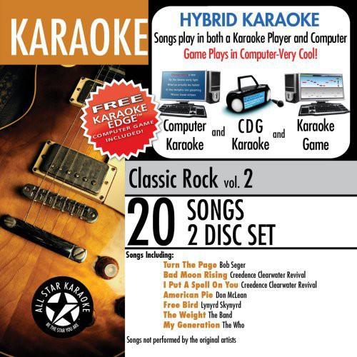 Karaoke: Classic Rock With Karaoke Edge, Vol. 2