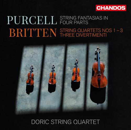 Doric String Quartet - String Quartets 1-3 / Three Divertimenti (2pk)