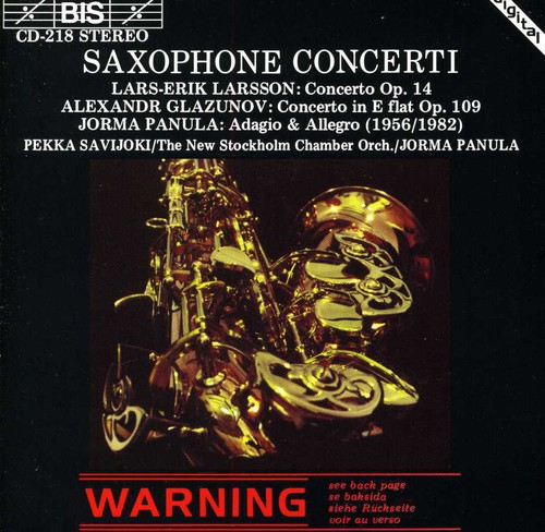 Concerto for Saxophone & Strings