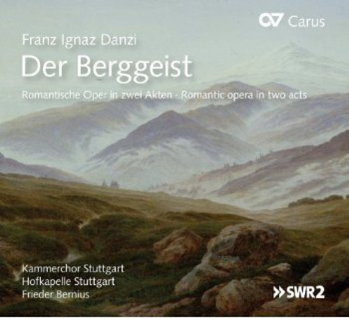 Der Berggeist. Romantic Opera in Two Acts