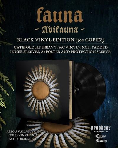 Fauna - Avifauna (Blk) (Gate) [Limited Edition] [180 Gram] (Post)
