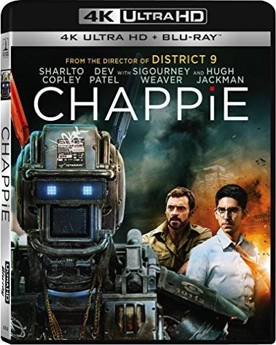 Chappie [4K Ultra HD Blu-ray/Blu-ray]