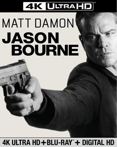 Jason Bourne [4K Ultra HD Blu-ray/Blu-ray]