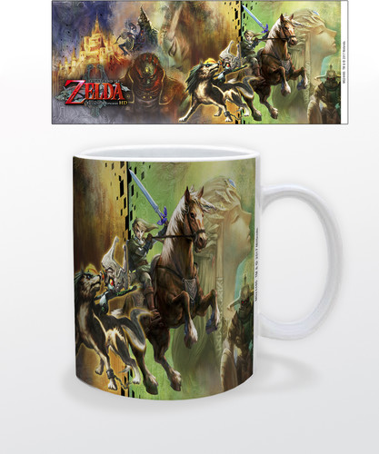 Zelda Twilight Princess Hd 11 Oz Mug - Zelda Twilight Princess HD 11 oz mug