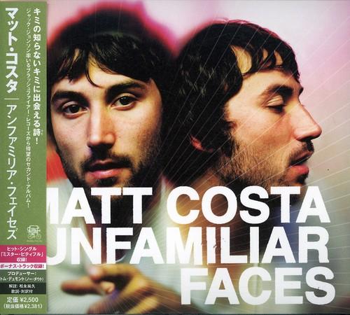 Matt Costa - Unfamiliar Faces (Jpn)