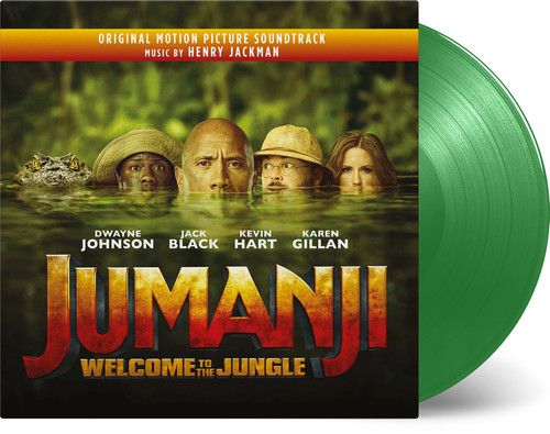 Henry Jackman - Jumanji: Welcome to the Jungle (Original Motion Picture Soundtrack) [Limited Edition Green 2LP]
