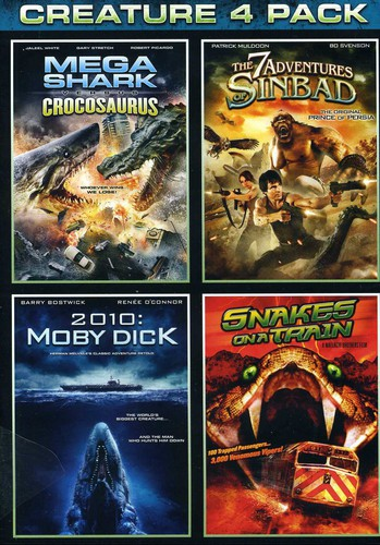 Mega Shark Vs Crocosaurus /  The 7 Adventures of Sinbad /  2010: Moby Dick /  Snakes on a Train
