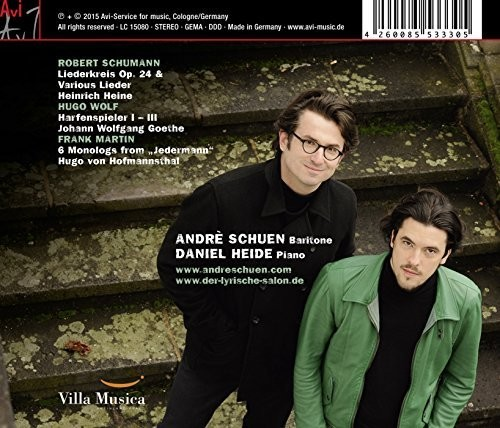 Schumann: Wolf & Martin: Lieder