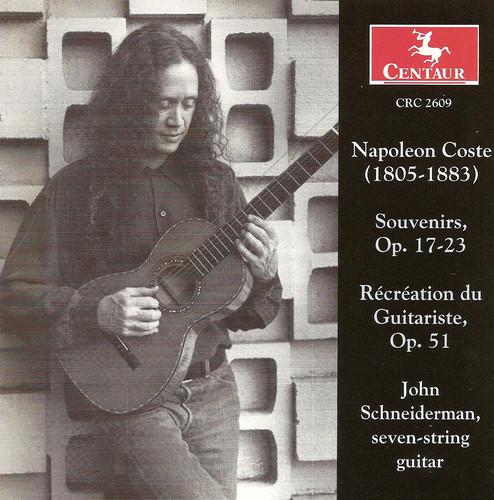 Souvenirs Op 17-23 /  Recreation Du Guitariste
