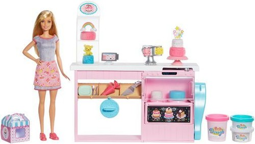 Barbie - Mattel - Barbie Cake Decorating Playset, Blonde