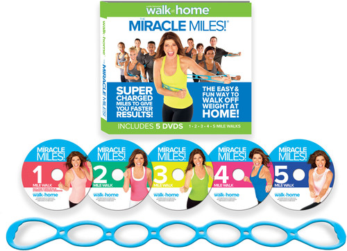 Leslie Sansone: Miracle Miles - Featuring Free Super-Sculpting Chain Link Band