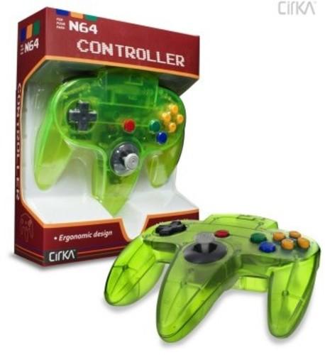- CirKa N64 Controller: Cyanine Green for Nintendo 64