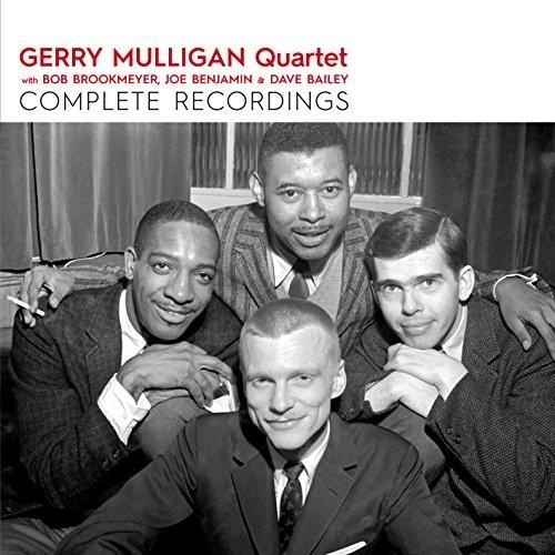 Gerry Mulligan Quartet - Complete Recordings With Brookmeyer Benjamin &