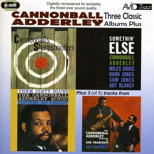 3 Classic LPs-Somethin Else/ Sharpshooters/ Them Dirty Blues