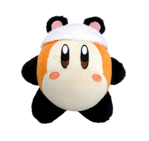 "- Little Buddy Kirby Adventure Waddle Dee Panda 6"" Plush"