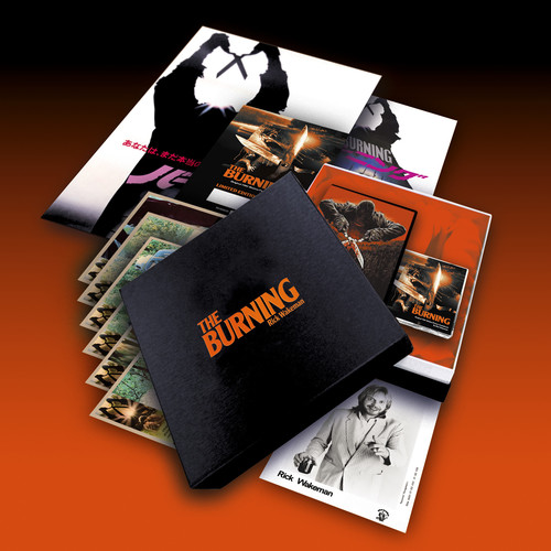 The Burning (Limited box set w/  signed & numbered certificate, lobbycards, Japanese press pack, A3 poster & promo photos) [Import]