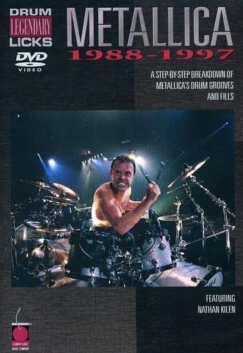 Metallica: Drum Legendary Licks 1988-1997