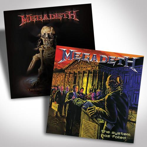 Megadeth Vinyl Bundle