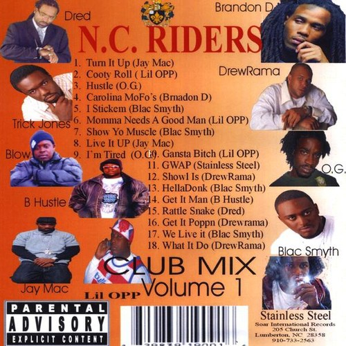 NC Riders 1 Club Mix /  Various