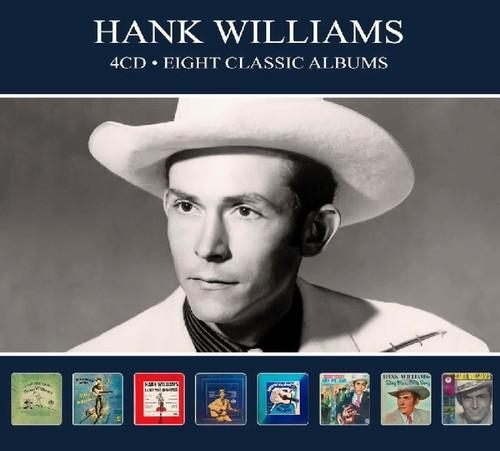 Hank Williams - 8 Classic Albums [Import]