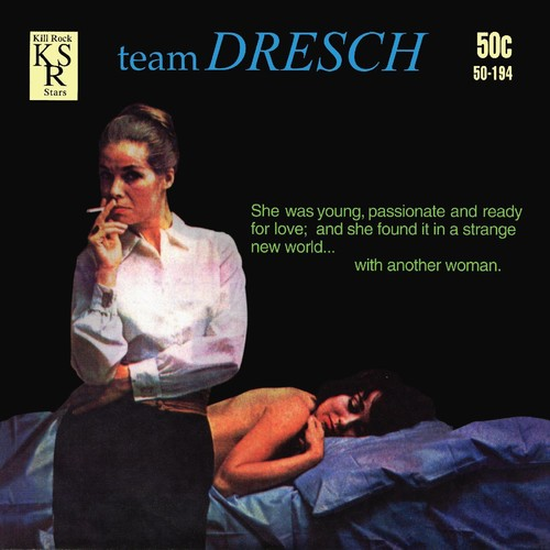 Team Dresch - Hand Grenade + 2 [Limited Edition Clear Vinyl Single]