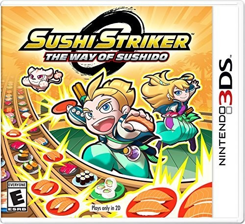 3Ds Sushi Striker: The Way of the Sushido - Sushi Striker: The Way of the Sushido for Nintendo 3DS