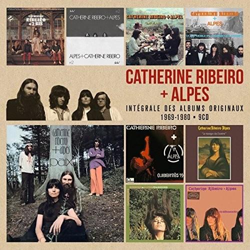Catherine Ribeiro + Alpes - Integrale Des Albums Original 1969-1980 [Import Box Set]