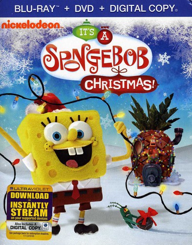 SpongeBob SquarePants: It's a SpongeBob Christmas! [Blu-ray/DVD]