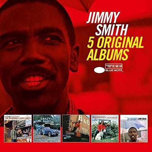 5 Original Albums by Jimmy Smith