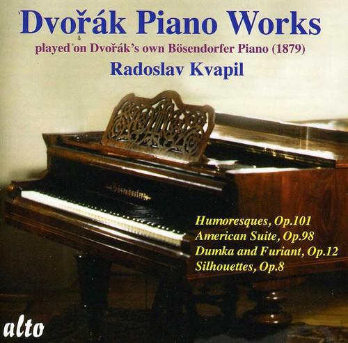 Radoslav Kvapil - Humoresques Op 101 / American Suite Op 98