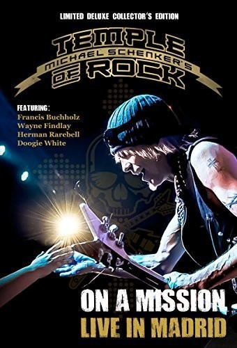 Michael Schenker - On A Mission: Live In Madrid [Blu-ray/DVD/CD]