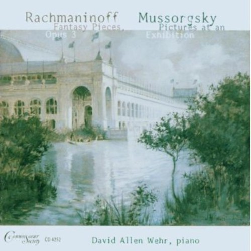 Piano Music of Rachmaninov & Mussorgsky
