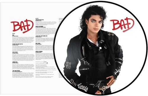 Michael Jackson - Bad [Picture Disc LP]