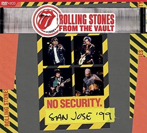The Rolling Stones - From The Vault: No Security. San Jose '99 [DVD+2CD]