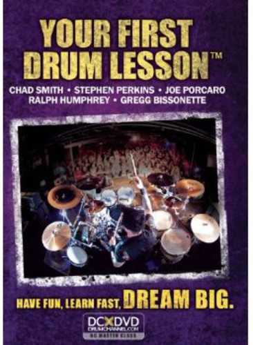 Your First Drum Lesson