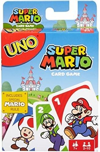 Uno Super Mario Bros - Mattel Games - UNO: Super Mario Bros. (Nintendo)