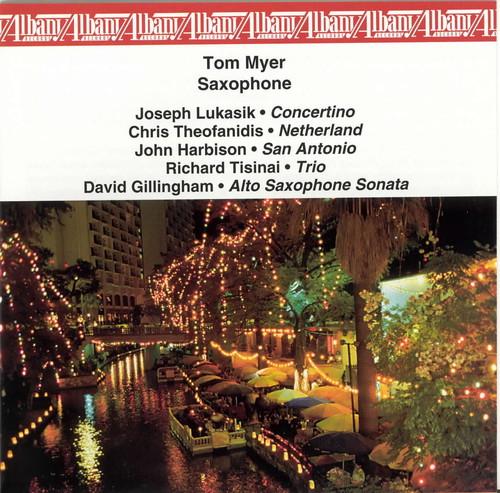 Concertino /  Netherland /  Alto Saxophone Sonata