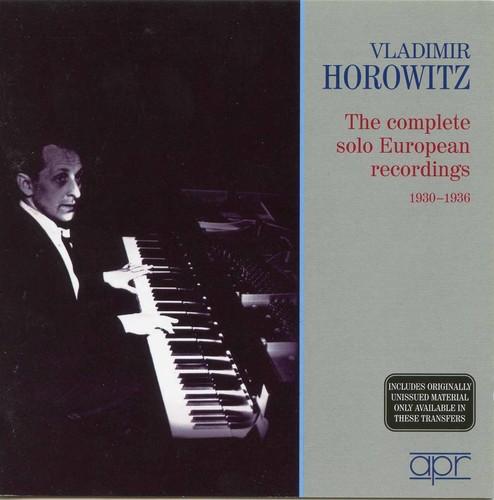 Complete Solo European Recordings 1930-36